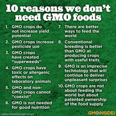 Genetically modified crops and foods are neither safe nor necessary to feed the world, a new report by genetic engineers shows. More here: http://earthopensource.org/index.php/reports/gmo-myths-and-truths #GMOs #fact #mythbuster #righttoknow