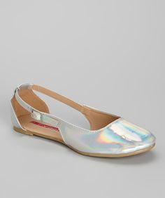 Take+a+look+at+the+Silver+Juno+Ballet+Flat+on+#zulily+today!