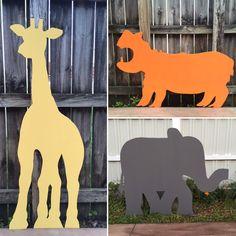 A personal favorite from my Etsy shop https://www.etsy.com/listing/264606426/safari-party-set-safari-animal-cutouts