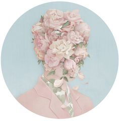 Taiwanese artist Hsiao-Ron Cheng, another painter picking up where Arcimboldo left.