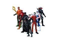 "Figuras de acción de 7"" Super Heroes vs Super -Villains"
