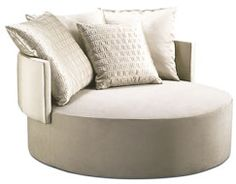 Fendi furnishings   New Products - Fendi Casa - Efea Chair   Interior Design