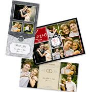 Wedding Thank You Photo Greeting Cards