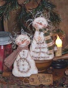 Snowmen pattern: