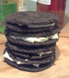 Homemade Oreo Cookies - For the Love of Food