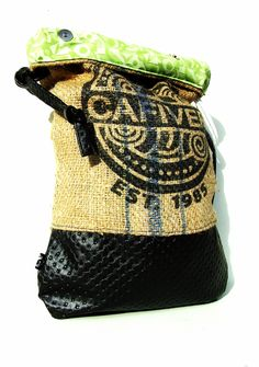petite quilted mexico - coffee sack recycled