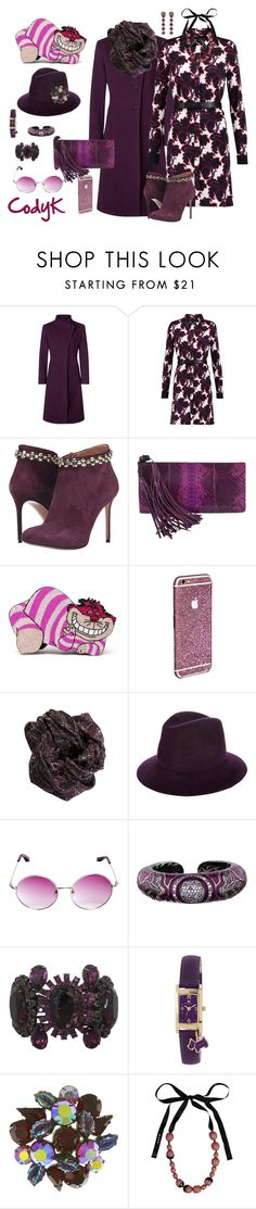 """Purple"" by cody-k ❤ liked on Polyvore featuring Kaliko, Viktor & Rolf, Gucci, Olympia Le-Tan, Lola, Linda Farrow, Matthew Campbell Laurenza, Radley, Marni and women's clothing"