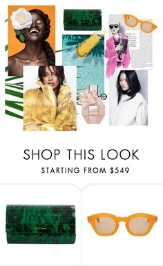 """boss"" by kara-lee-x on Polyvore featuring Puma, Elie Saab and Hakusan"