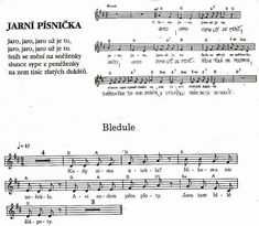 Bledule Kids Songs, Sheet Music, Ms, Notes, Report Cards, Nursery Songs, Notebook, Music Sheets