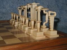 Chess Set for carpenters