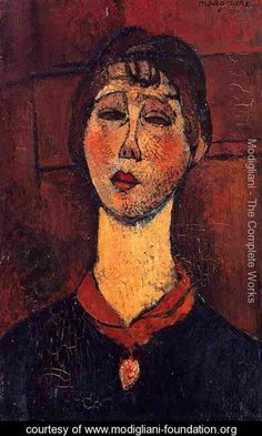 Madame Dorival - Amedeo Modigliani - www.modigliani-foundation.org