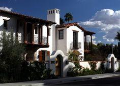 Palm Spring Villas traditional exterior