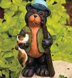 Little Boy Dog Fishing Pond Sculpture Patio Garden Statue Poolside Craft  Yard | Get It On Ebay! | Pinterest | Boy Dog, Garden Statues And Lawn  Ornaments