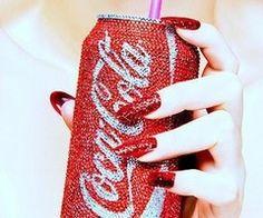 Bedazzled Coca Cola. HAha