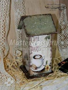Как сделать чайный домик своими руками из картона видео бесплатно