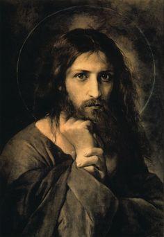 Ivan Kramskoy - Christ