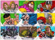 Thor The Dark World. (Upper Deck/ Marvel Comics, 2014).