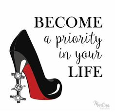 friday quote fashion illustration Become a priory in your life - Illustrated Quotes - Friday Illustration, Its Friday Quotes, Typography Quotes, Fashion Quotes, Wasting Time, Priorities, Powerful Women, Wise Words, We Heart It