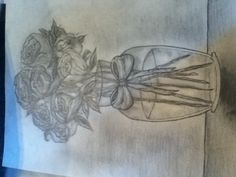 My roses I drew (: #flowers #drawing