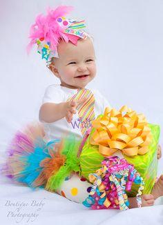 First Birthday Tutu Outfit   Birthday by DarlingLittleBowShop, $79.95  @Rio Ciano Melançon