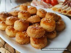 Greek Recipes, Desert Recipes, Cauliflower Soup, Pretzel Bites, Biscuits, Deserts, Bread, Cooking, Foods