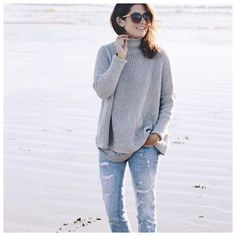 Gettin cozy on the blog (this sweater again!) #loveloft @loft     @liketoknow.it www.liketk.it/225mL #liketkit