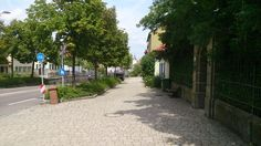 Ansbach View from Triesdorfer Street, my son lives there
