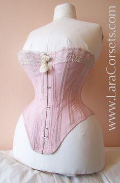 Antique corset collection - 1907 corset inventory