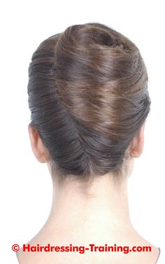 French Pleat | Hairdressing Training // Cocul franţuzesc | Curs de frizerie şi coafură