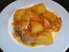 natassa's bake blog: Κοτόπουλο κοκκινιστό κατσαρόλας red wine braised chicken