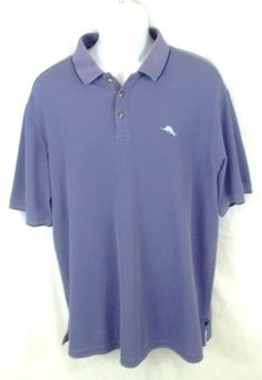 TOMMY BAHAMA Purple Short Sleeve Polo Rugby Golf Shirt Mens Size EXTRA LARGE  XL #TommyBahama #PoloRugby