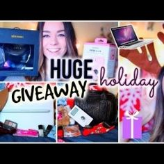 Huge Holiday Giveaway  2014 ^_^ http://www.pintalabios.info/en/youtube-giveaways/view/en/143 #International #Fashion #bbloggers #Giweaway