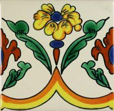 Especial Mexican Tile - BORDER  Primavera II – Mexican Tile Designs