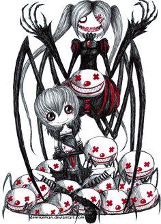 The Spider witches by DemiseMAN.deviantart.com on @deviantART
