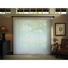 Sliding Glass Door Vertical Blinds Vertical Blinds Sliding Glass Doors... ❤ liked on Polyvore featuring home, home decor and glass home decor