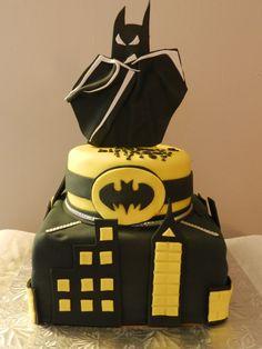 Batman Dark Knight Grooms Cake Batman Dark Dark Knight And Batman - Dark knight birthday cake