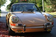 1978 911SC backdated into a long hood 911 with a 3.2L engine...drool.