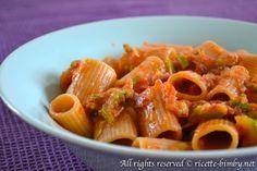 Pasta speck e zucchine