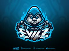 EVILZ designed by Eighty Eight Design. Connect with them on Dribbble; the global community for designers and creative professionals. Game Logo Design, Esports Logo, Photography Logo Design, Mascot Design, Cool Logo, Logo Nasa, Logo Design Inspiration, Character Illustration, Logo Branding