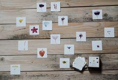 Pexeso+Květiny+Autorské+pexeso...+Vytištěno+na+matném+papíře+krémové+barvy+250gr/m+Krabička+obsahuje+64+kartiček+(32+dvojic)+7x7+cm