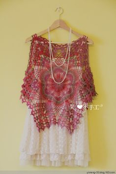 Beautiful crochet gypsy top ❤️LCT-MRS❤️ with diagram.