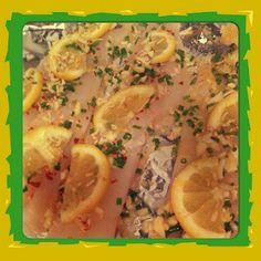 Easy Lemon Cod Fish Foil Pack