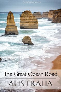 Driving the Great Ocean Road Australia
