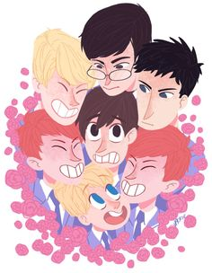 Ouran Animal host club Crossing by zamii070 on DeviantArt