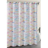 Found it at Wayfair - SPA Collage Shower Curtain Set