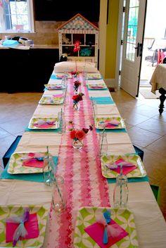 """Photo 5 of 32: Pancakes & Pajamas brunch birthday / Birthday """"Pancakes & Pajamas Party for Laney""""   Catch My Party"""
