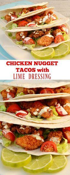 Healthier, lighter Chicken Tacos
