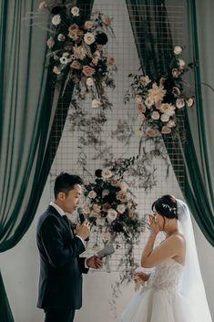 Vancouver wedding florist. Wedding ceremony in Vancouver. Wedding Ceremony, Wedding Day, Something Beautiful, Vancouver, Wedding Dresses, Flowers, Pi Day Wedding, Bridal Dresses, Alon Livne Wedding Dresses
