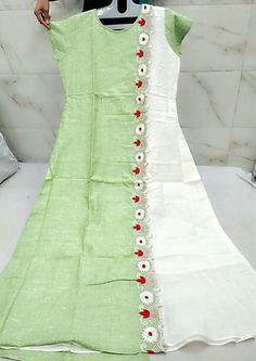 - Her Crochet Dress Design Patterns, Dress Neck Designs, Stylish Dress Designs, Stylish Dresses, Kurti Sleeves Design, Kurta Neck Design, Churidar Designs, Kurta Designs Women, Simple Kurti Designs