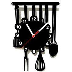 Relógio de Parede Decorativo Cozinha